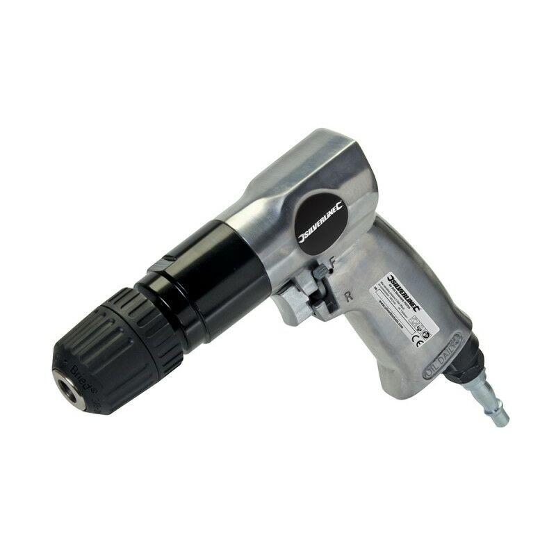Silverline - Perceuse pneumatique réversible - 10 mm