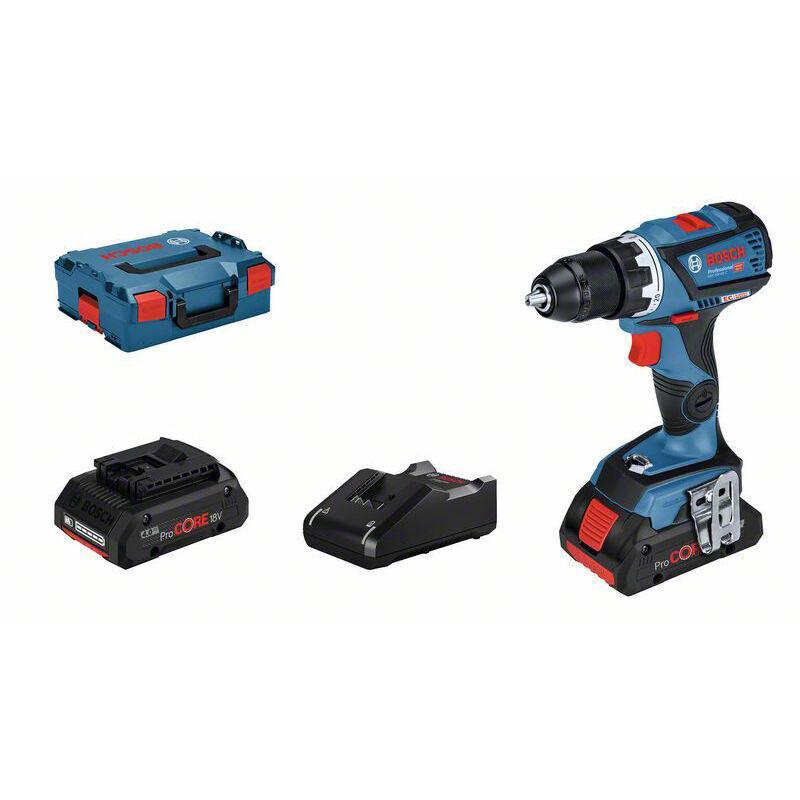 Bosch Professional Perceuse-visseuse sans fil GSR 18V-60 C, 2 batteries