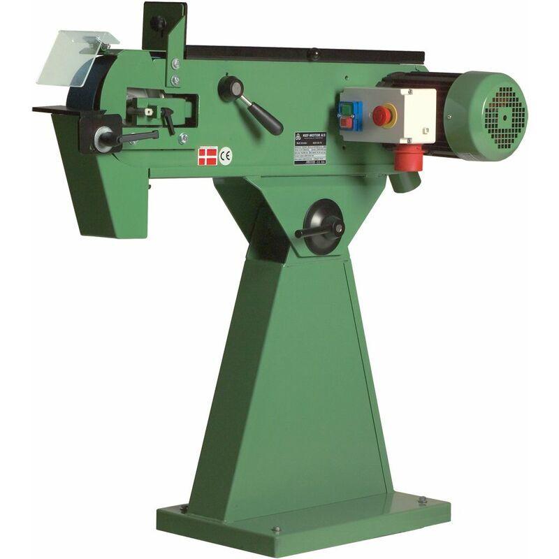KEF Ponceuse à bande 75x2000 mm - KEF - BSH 20/75 (4,8 HP)