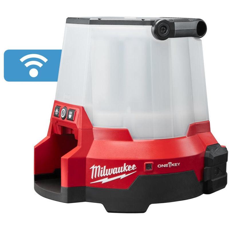 MILWAUKEE Lampe One-Key LED 360° Hybride (filaire et sans sans fil)   M18