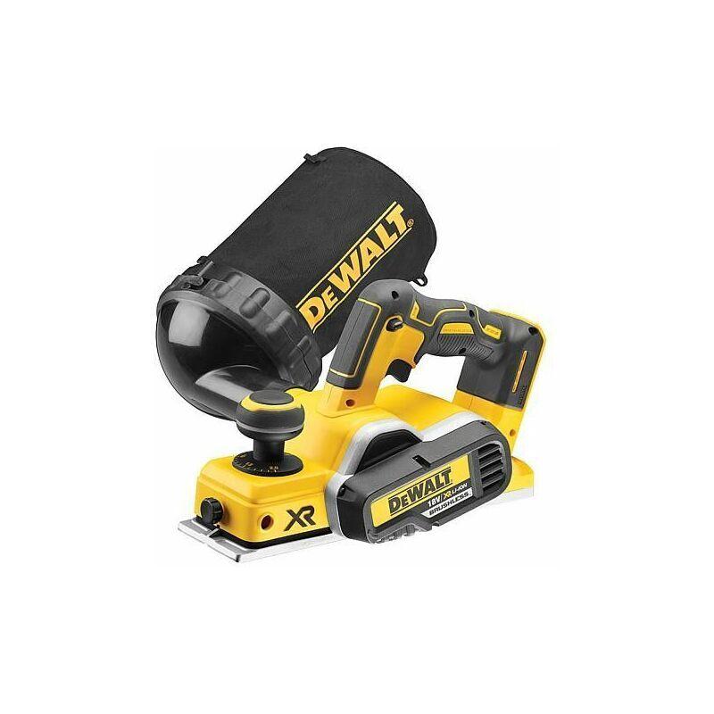 DEWALT Rabot sans fil DeWALT® DCP 580 NT, 18 V, sans batterie ni chargeur