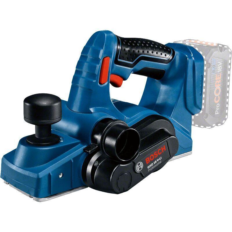 BOSCH Rabot sans fil GHO 18V-LI Solo   06015A0307 - Bosch
