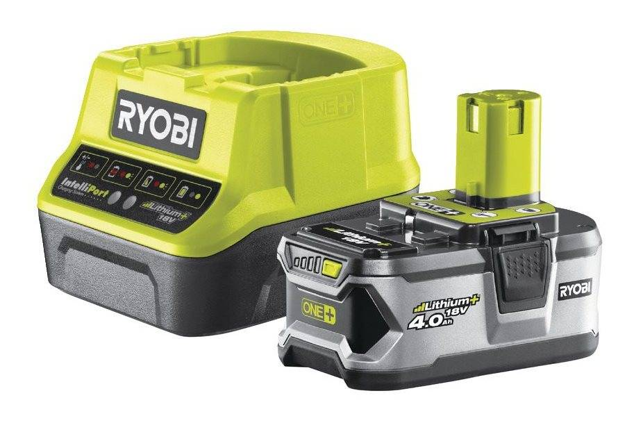 Ryobi - Pack chargeur rapide 2.0 A + 1 batterie Lithium+ 18 V 4.0 Ah