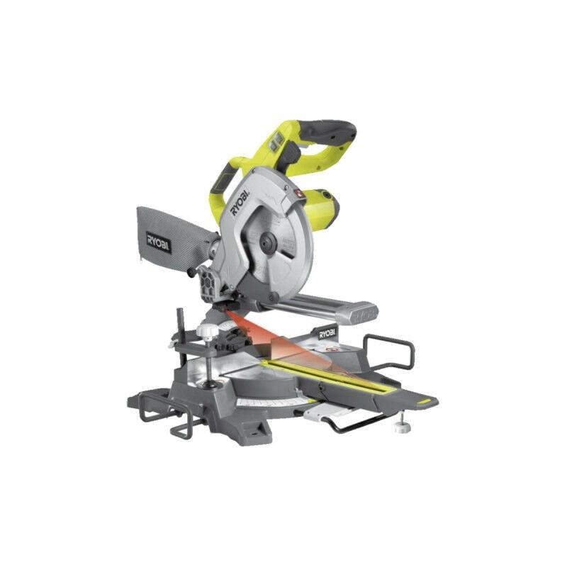 RYOBI Scie à coupe d'onglets radiale électrique RYOBI 1500W 216mm EMS216L