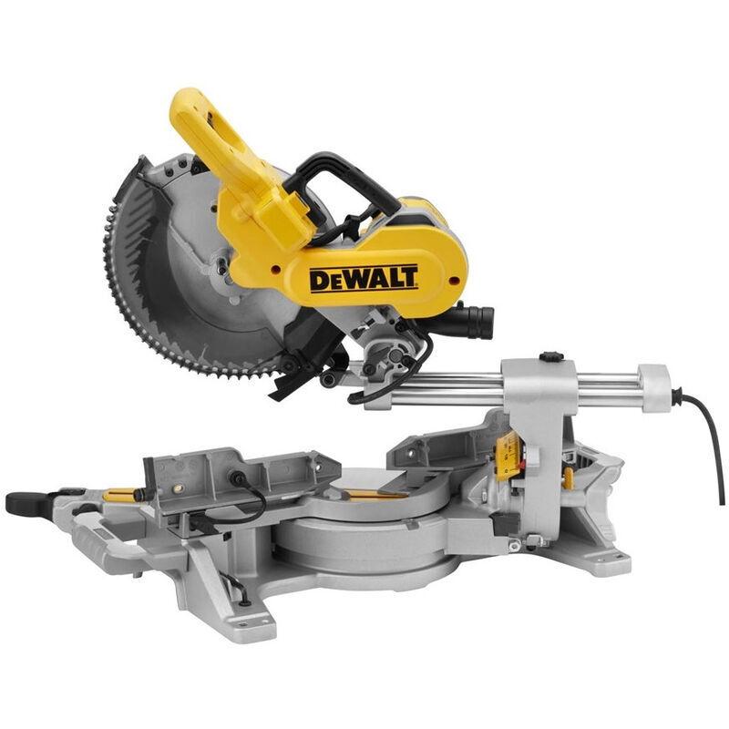DEWALT Scie à onglet radiale 1600W 250 mm DEWALT - DWS727-QS