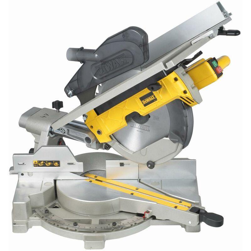 DEWALT Scie à onglets radiale et a table supérieure DEWALT 305 mm et 1500 W