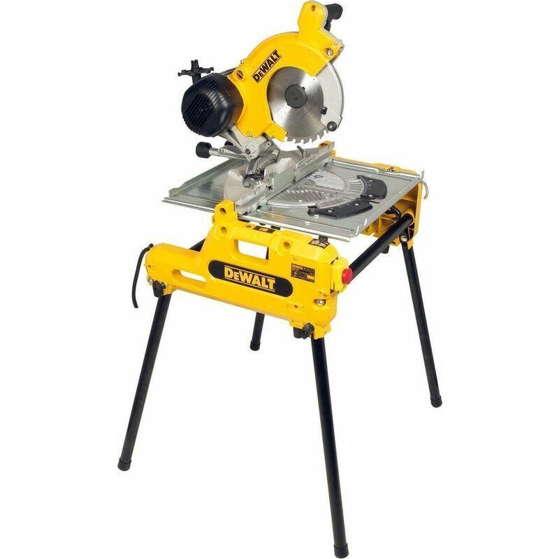 DeWalt DW743N - Scie à table et à onglets - 2000W - 250mm x 30mm