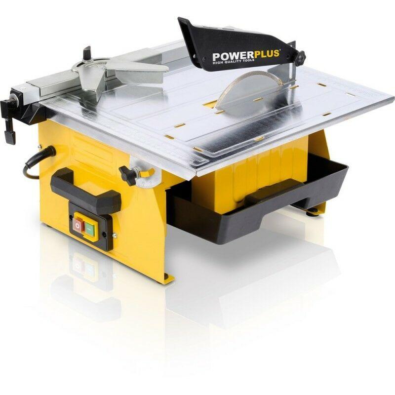 POWERPLUS Scie Carrelage De Table 750W - POWERPLUS