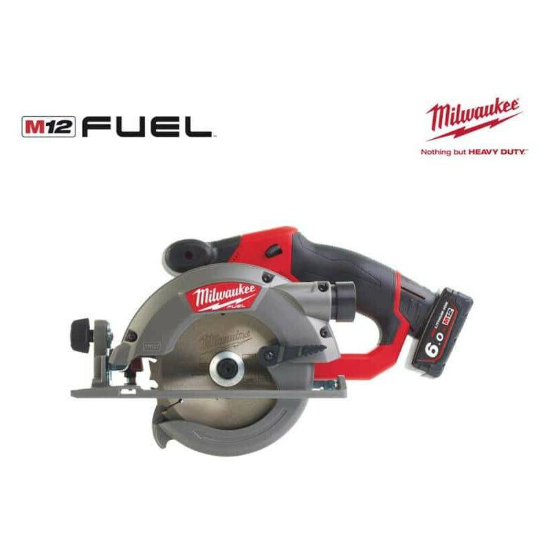 MILWAUKEE Scie circulaire MILWAUKEE FUEL M12 CCS44-602X - 2 batteries 6.0 Ah - 1