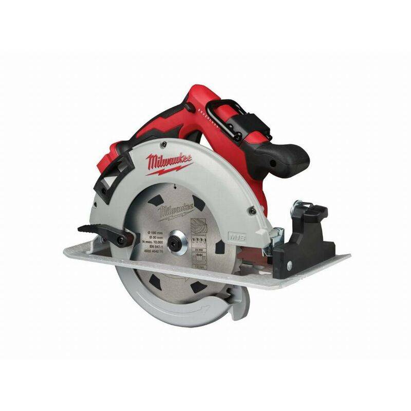 MILWAUKEE Scie circulaire MILWAUKEE M18 BLCS66-0 Brushless - Ø 190 mm - Sans