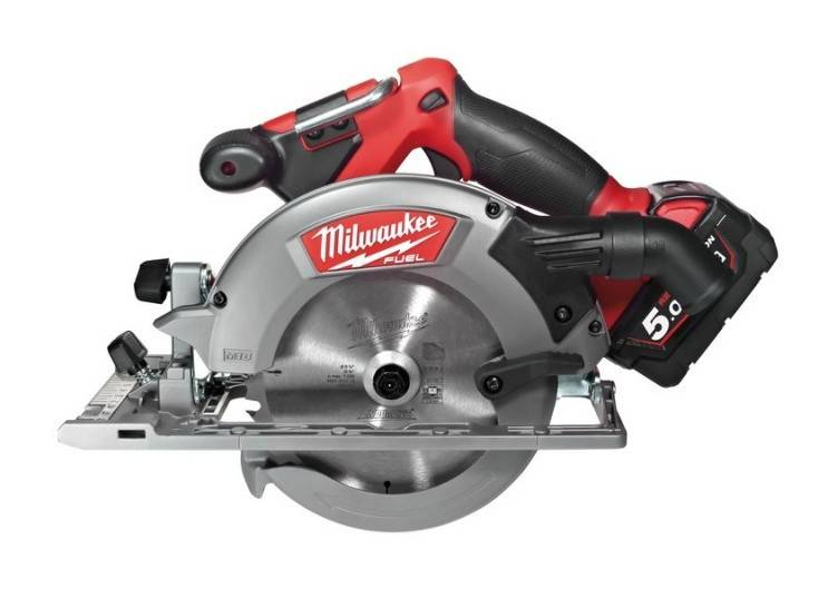 MILWAUKEE Scie circulaire MILWAUKEE M18CCS55-902X - 165mm - 2 batteries 18V