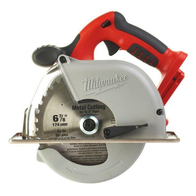MILWAUKEE Scie circulaire pour métal sans fil 28V Li-Ion HD28 MS-0 - 174mm