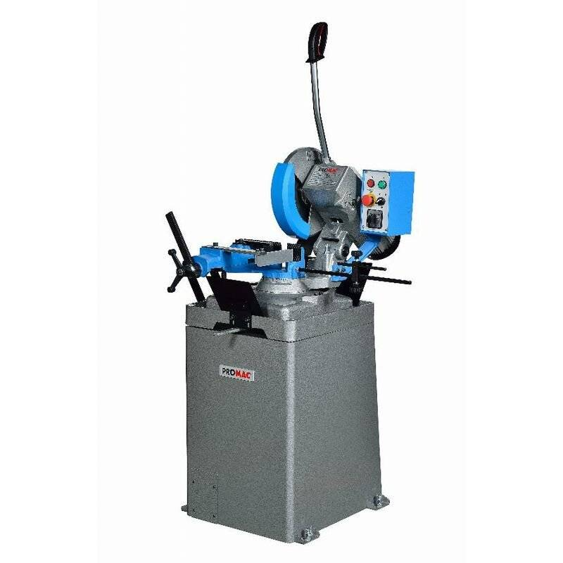 PROMAC Scie circulaire pour métaux 400V Ø315 mm avec socle PROMAC - SY-315