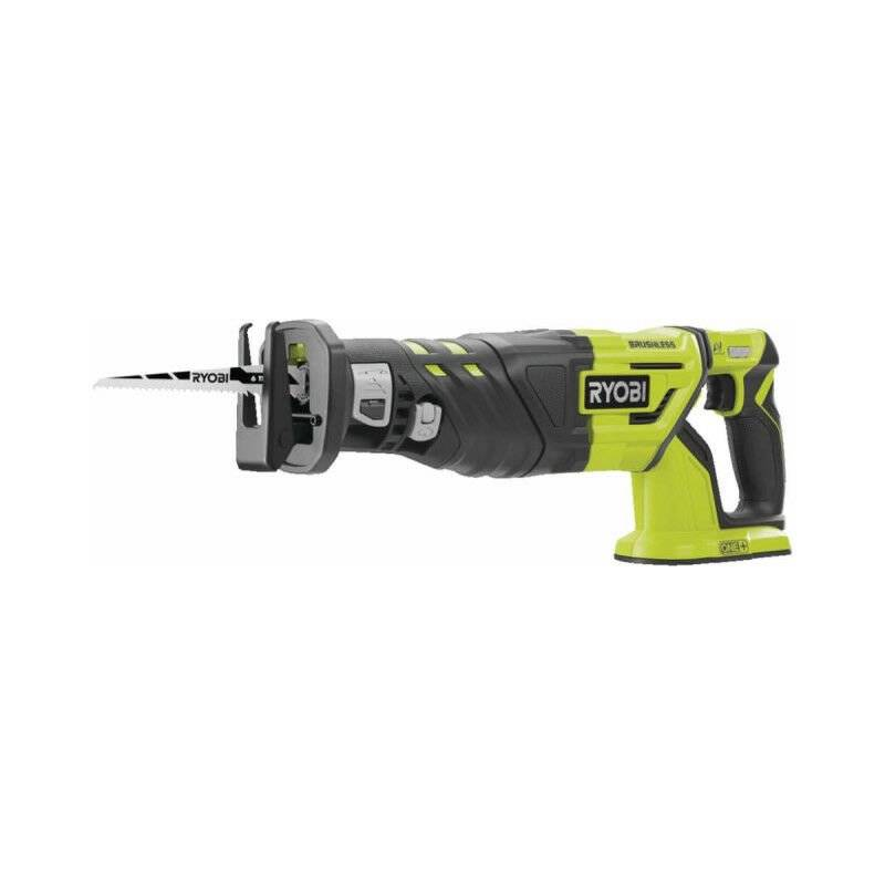 RYOBI Scie sabre Brushless 18V OnePlus - sans batterie ni chargeur R18RS7-0