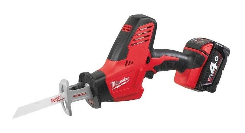 MILWAUKEE Scie sabre MILWAUKEE C18 HZ 402B - 18V 4.0Ah - 2 batteries, chargeur,