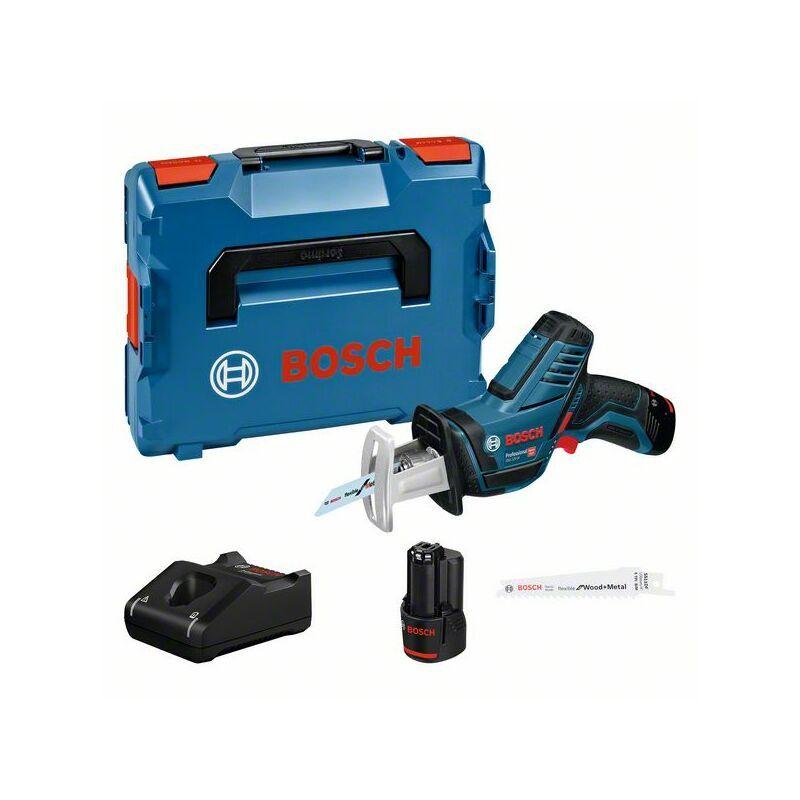 Bosch Professional Scie sabre sans fil GSA 12V 14 avec 2 batteries 3,0