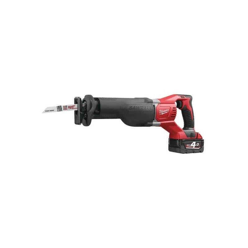 MILWAUKEE Scie sabre MILWAUKEE M18 BSX-402C - 2 batterie 18V 4.0 Ah - 1 chargeur