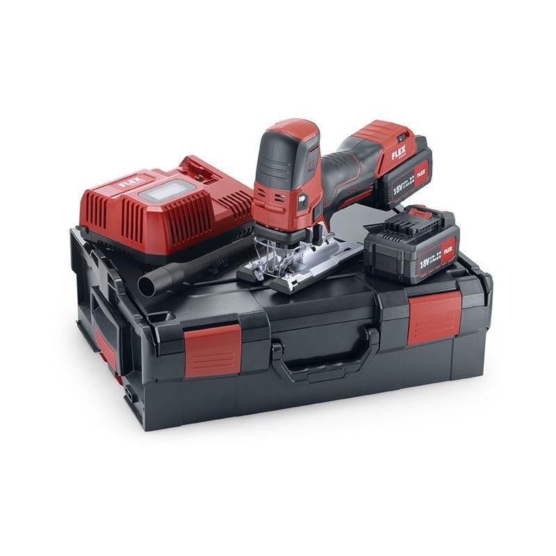 FLEX Scie sauteuse 18V JS 18.0-EC/5.0 Set FLEX - 2 batteries + chargeur +