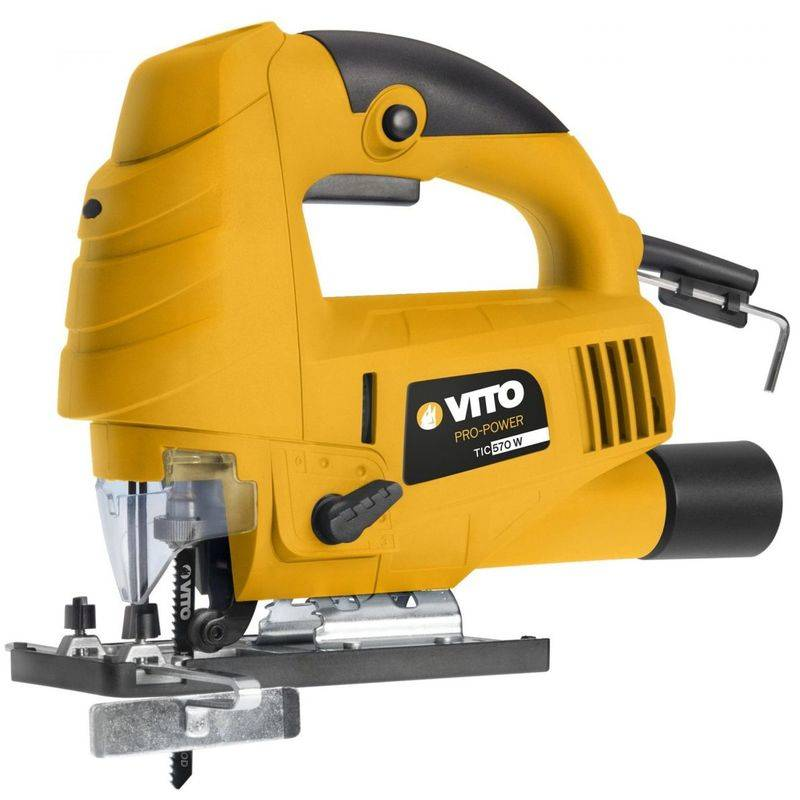 VITO PRO-POWER Scie sauteuse VITO 9 vitesses 570w protection lame 3000tr/min rotation