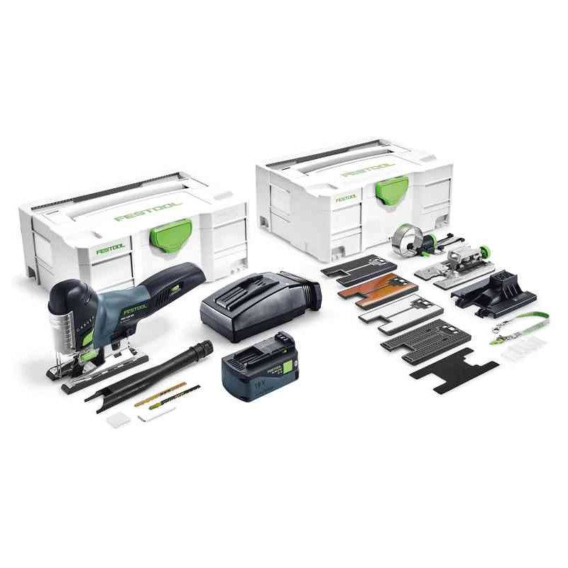 FESTOOL Scie sauteuse FESTOOL CARVEX PSC 420 Li 18 SET - Batteries 18V 5.2 Ah,