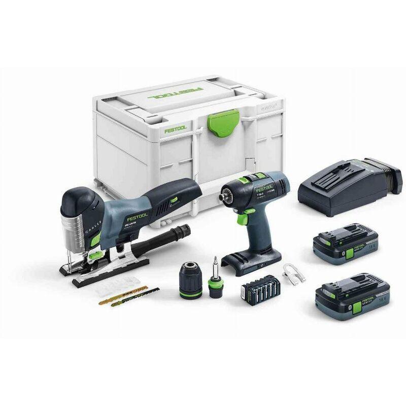 Festool Set de montage sans fil T 18+3/PSC 420 I-Set - 576529