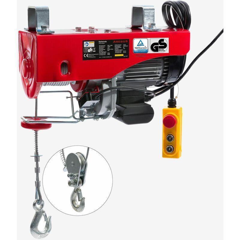 CANBOLAT VERTRIEBS GMBH Treuil Palan électrique Treuil à câble électrique Potence Pivotante