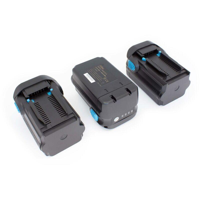 VHBW 3 x Li-Ion Batterie 6000mAh (36V) pour outils Hilti TE 6A, TE 7A, TE6A,