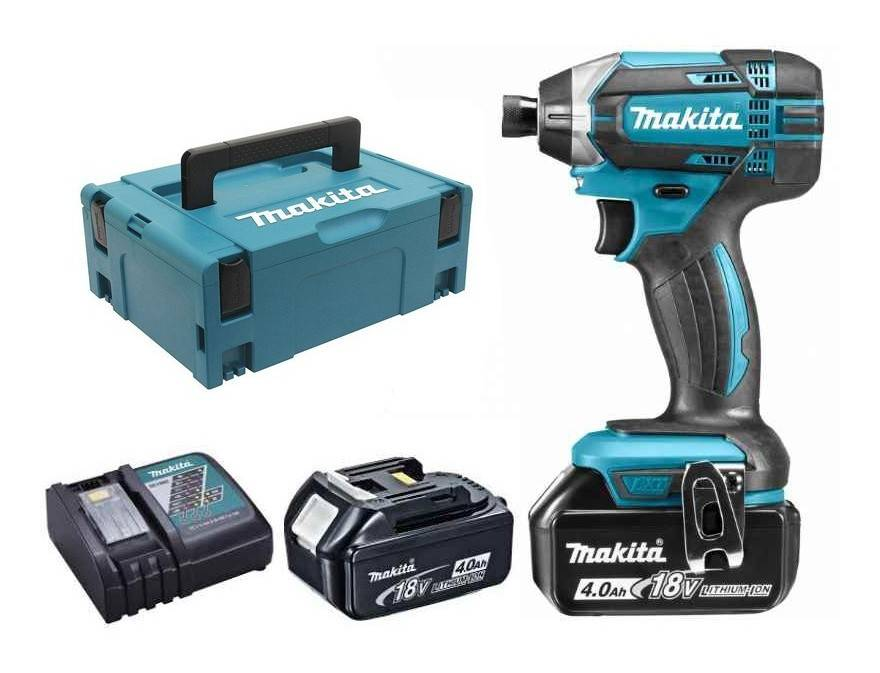 MAKITA Visseuse à chocs MAKITA 18V Li-Ion 4.0 Ah 165 Nm - 2 batteries,