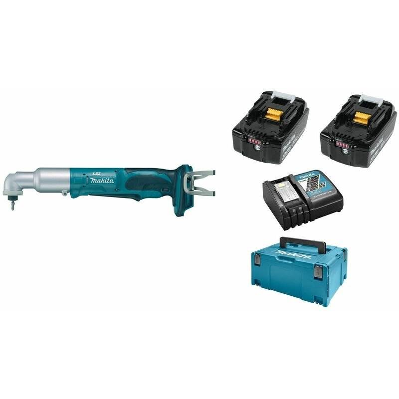 Makita DTL061RMJ Visseuse d'angle à chocs à batteries 18V Li-Ion set