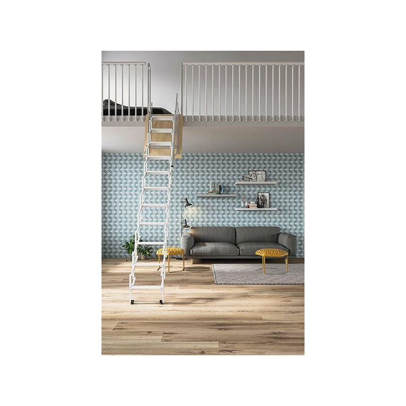 ESCALIER DIRECT - MATISERE Escalier Direct-matisere - A. Echelle accordéon blanche - ESCALIER