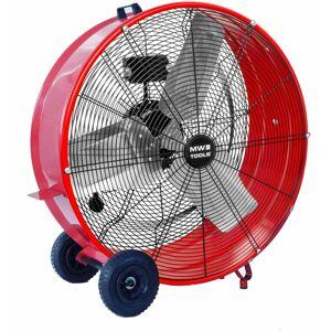MW-TOOLS Grand ventilateur brasseur d'air mobile ø 900 mm - 380 W MV900L - Publicité