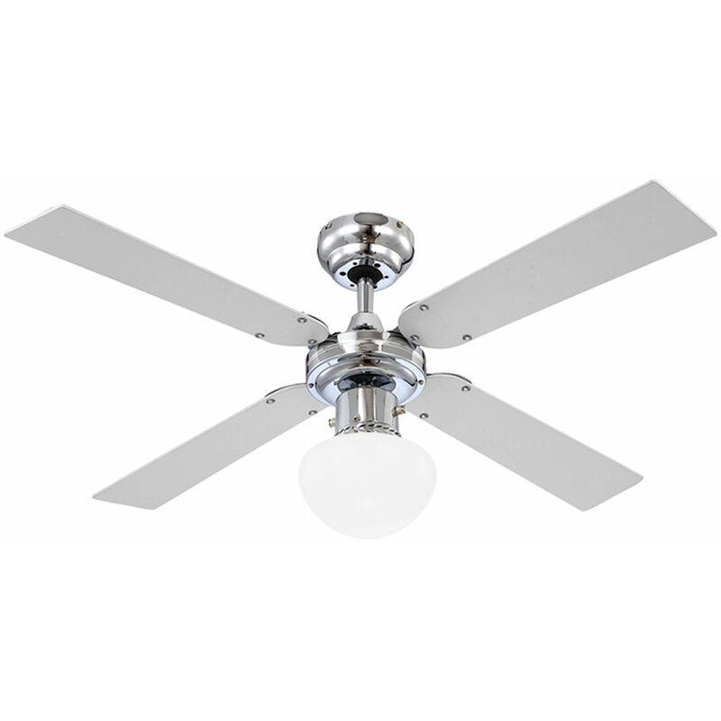 ETC-SHOP ventilateur de plafond Lumière Dissipateurs refroidisseur lampe