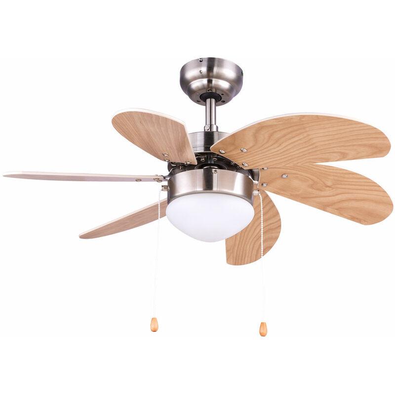 ETC-SHOP Interrupteur de tirette de ventilateur de plafond à 3 niveaux de