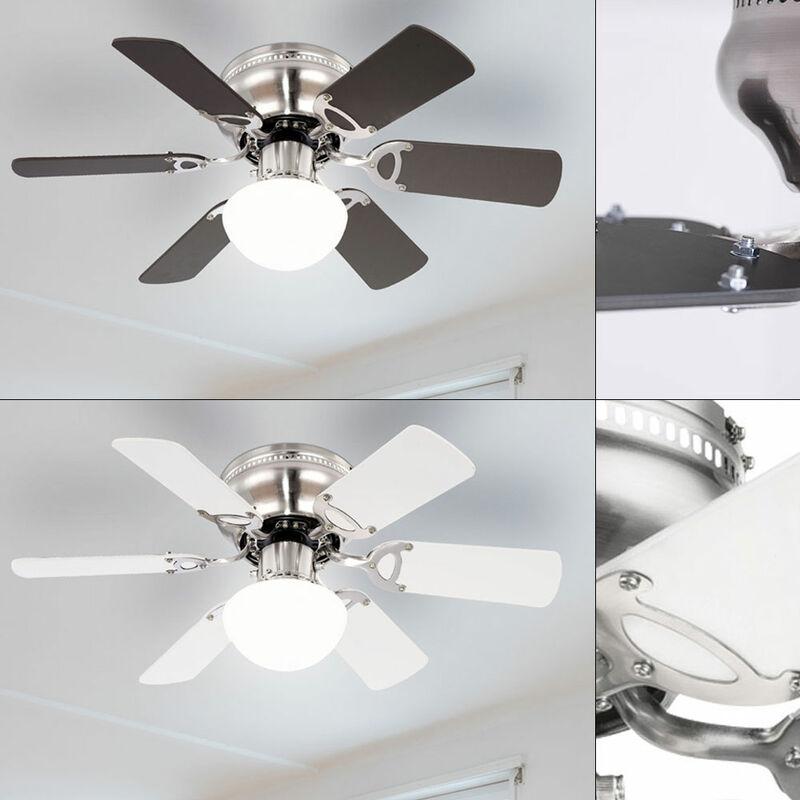 ETC-SHOP Ventilateur de plafond Ventilateur avant / arrière Silencieux