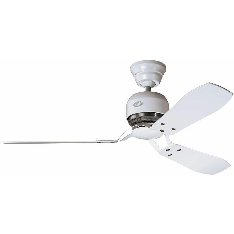 HUNTER FANS Ventilateur de plafond Hunter INDUSTRIE Blanc 132 cm
