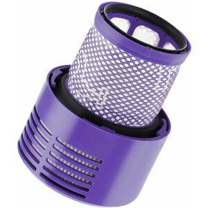 Longziming - 2 filtres de remplacement pour aspirateur avec brosses, - Publicité