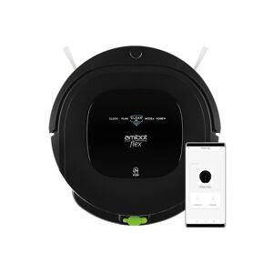 AMIBOT Robot aspirateur et laveur AMIBOT Flex H2O Connect - Black - Publicité