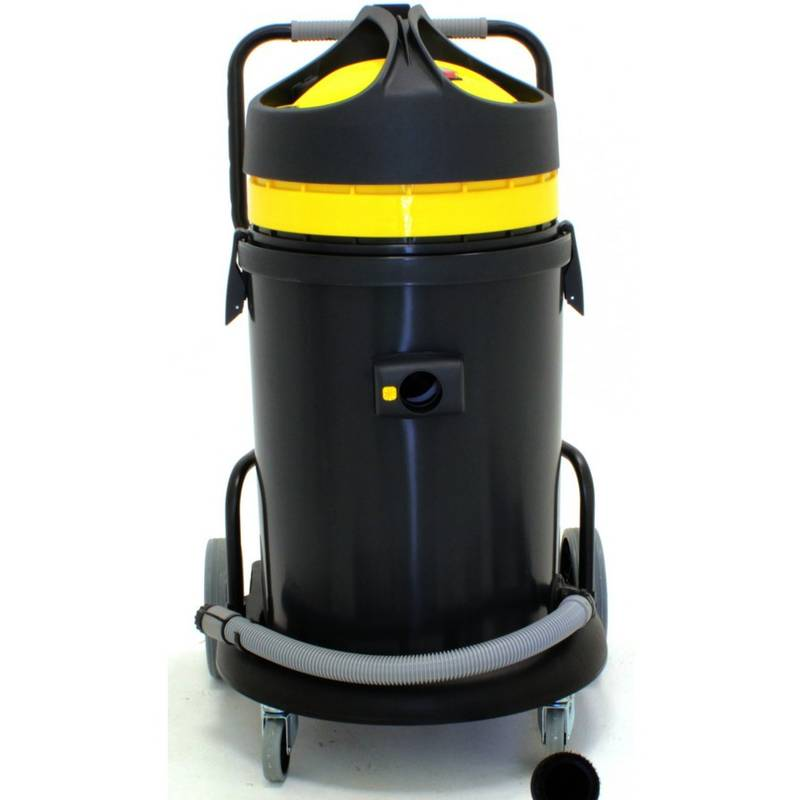 PROMAC Aspirateur 2 moteurs poussière/eau 62/50 litres VAC-360-2N - Promac