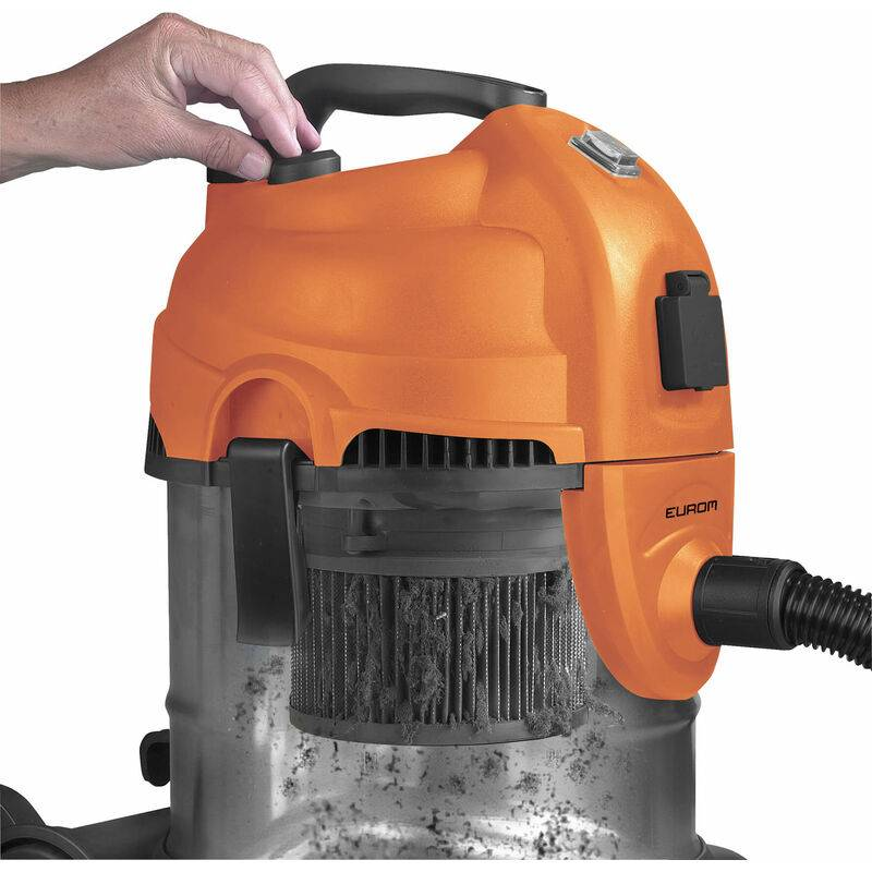 Eurom Force 1420S - Aspirateur tout usage / aspirateur de bâtiment