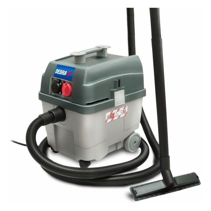 Hucoco - DTOOLS   Aspirateur eau et poussière   1400 W + prise 2200W