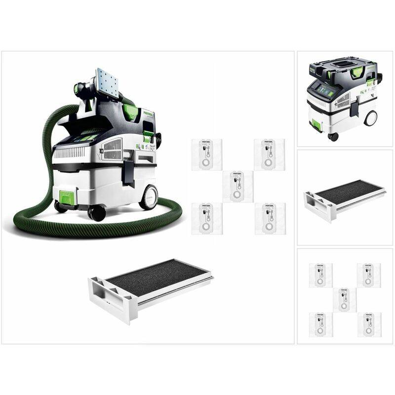 Festool CTL MIDI I Cleantec Aspirateur mobile 15l pour poussières de