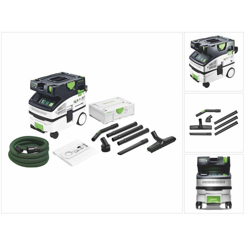 Festool CTL MINI CLEANTEC Aspirateur mobile + Kit de nettoyage compact