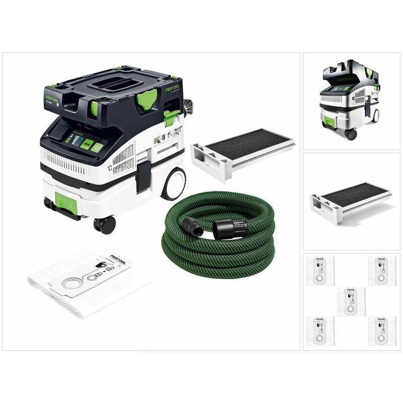 Festool CTL MINI I CLEANTEC Aspirateur mobile 10l, poussières de classe