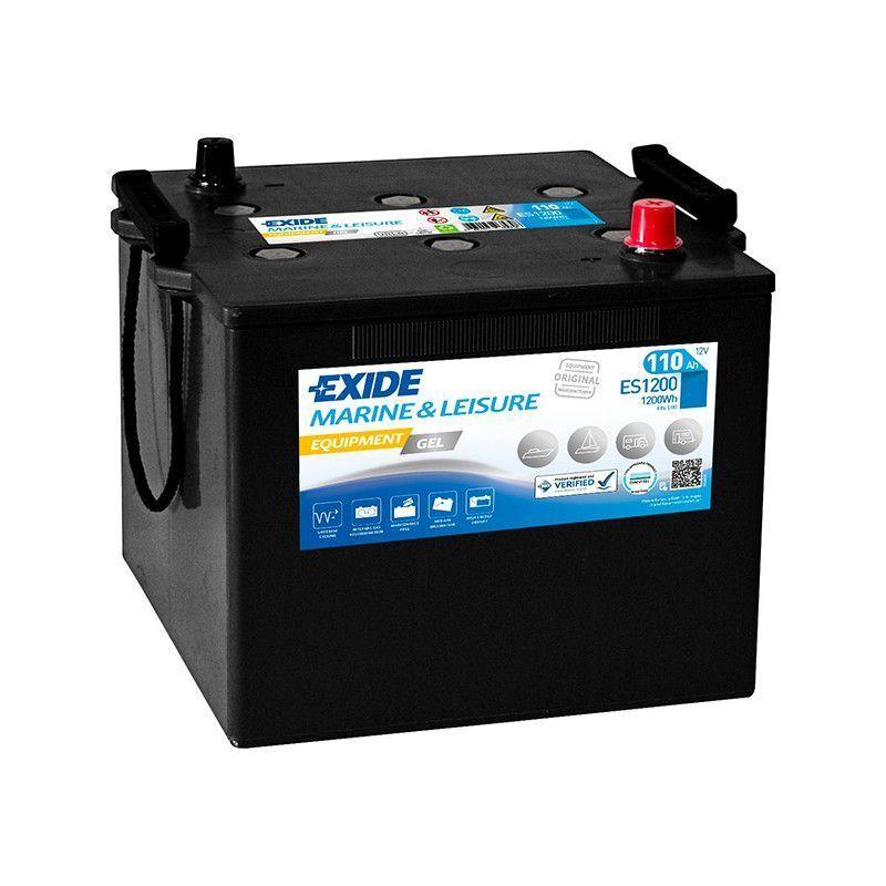 EXIDE Batterie décharge lente Exide Gel ES1200 12v 110ah