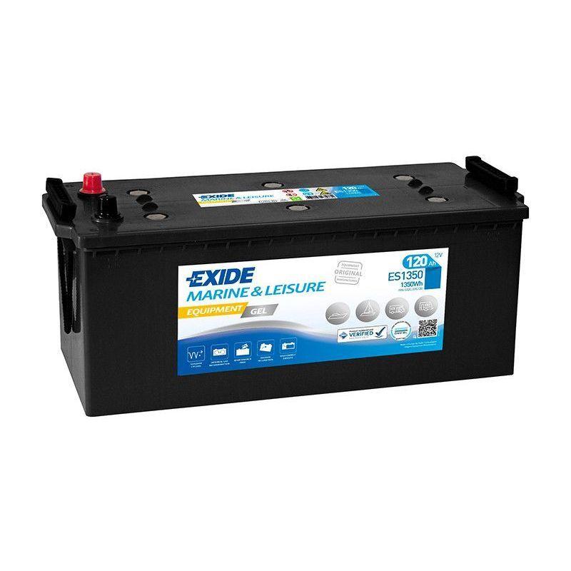 EXIDE Batterie décharge lente Exide Gel ES1350 12v 120ah