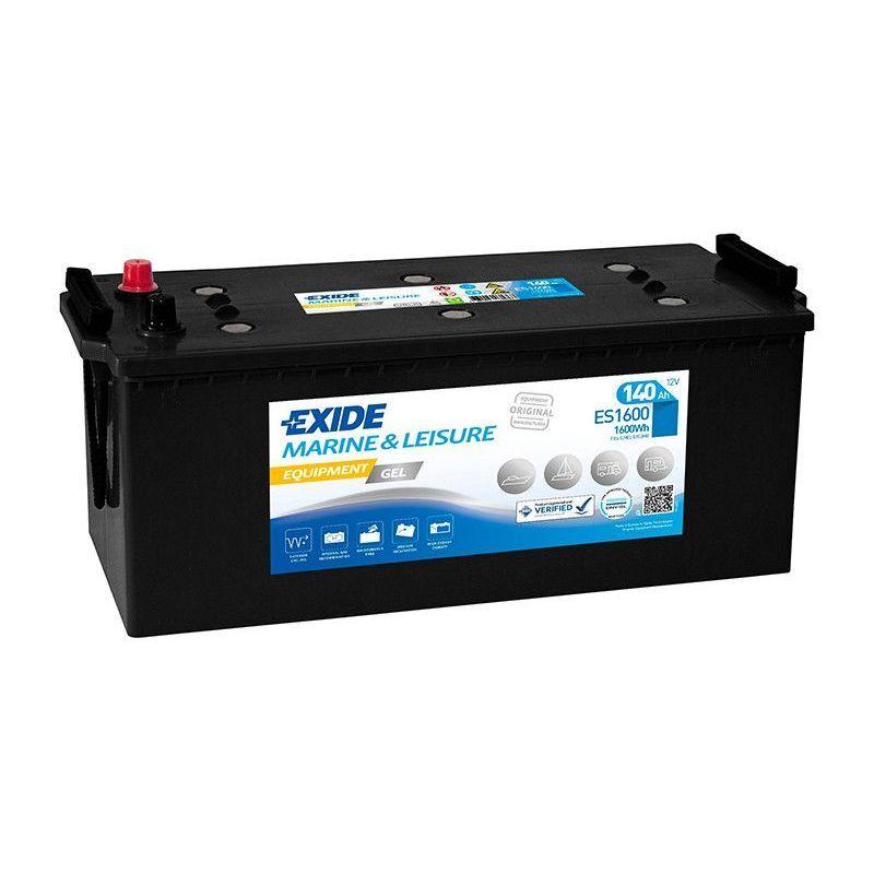 EXIDE Batterie décharge lente Exide Gel ES1600 12v 140ah