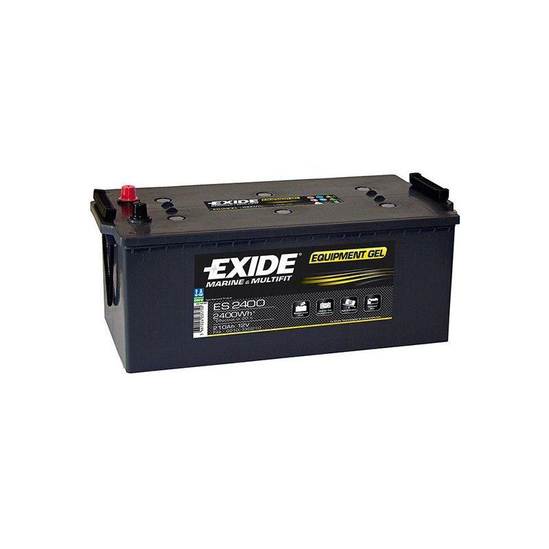 EXIDE Batterie décharge lente Exide Gel ES2400 12v 210ah