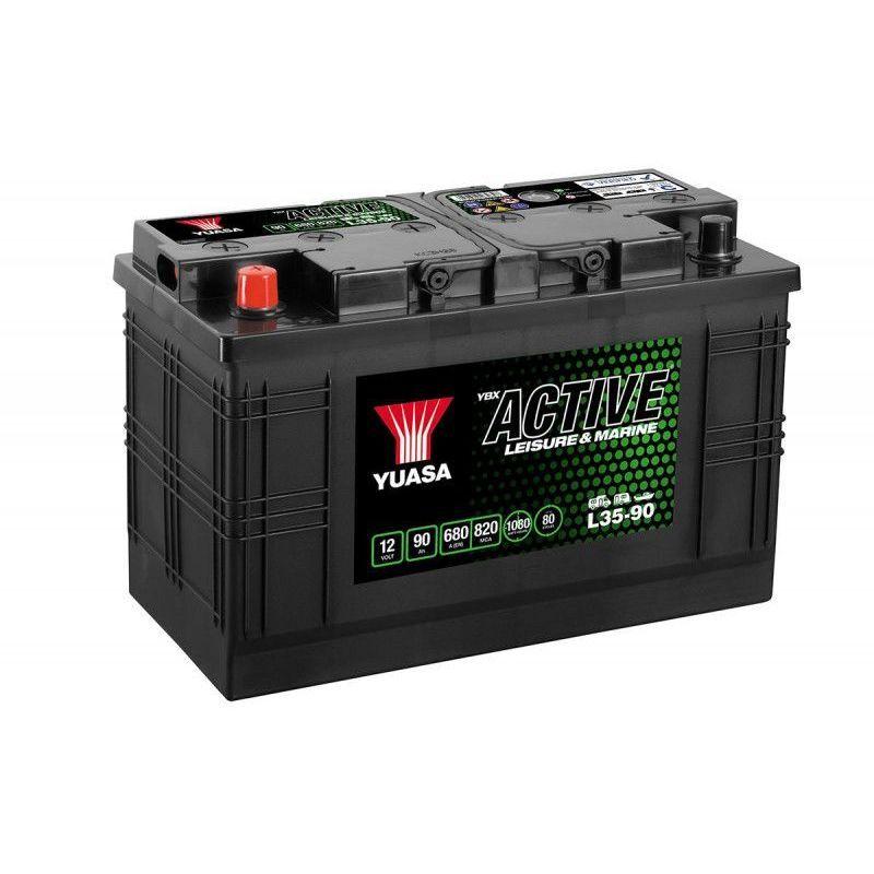 YUASA Batterie décharge lente L35-90 Leisure 12v 90ah - Yuasa