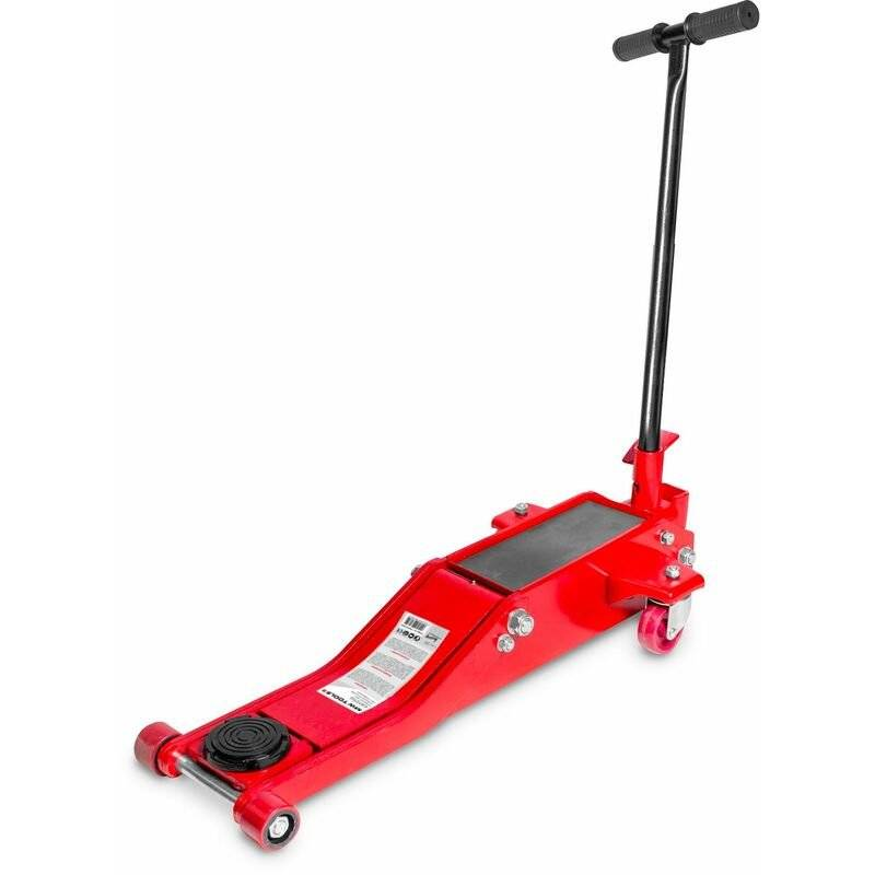 MW-TOOLS Cric rouleur hydraulique 2t long et bas CAT2TLL - Mw-tools