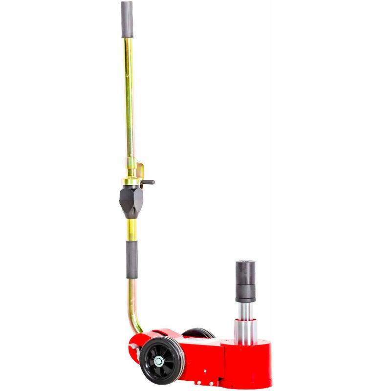 MW-TOOLS Cric rouleur hydro-pneumatique portable 15-30 T MW-Tools HPK1530M